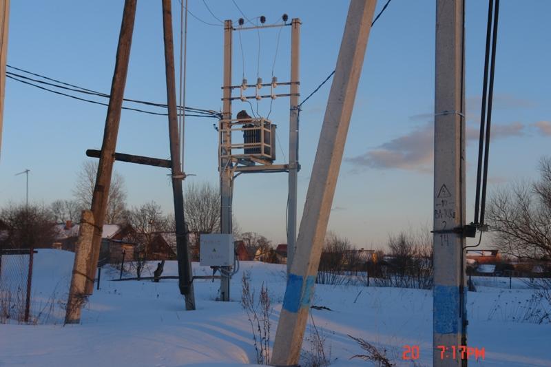 МТП-473 снабжает всю деревню